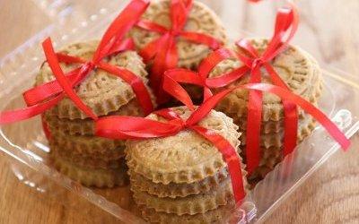 Walentynkowe ciastka i serniki na leczenie Bereniki - podziękowania